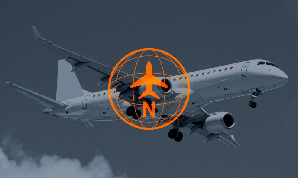 TrueNoord Embraer E190 aircraft