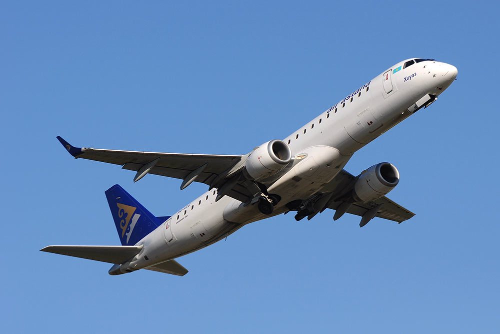 TrueNoord closes sale-lease back with Air Astana for Embraer E190 aircraft