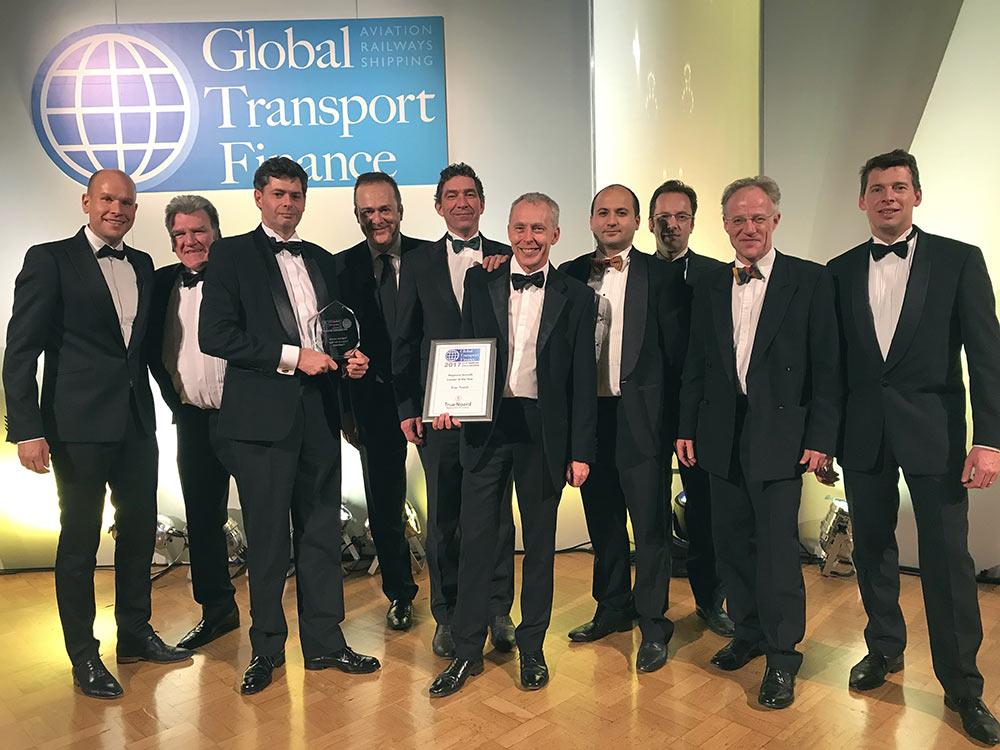 TrueNoord announced as winner of the Global Transport Finance Regional Aircraft Lessor of the Year Award 2017