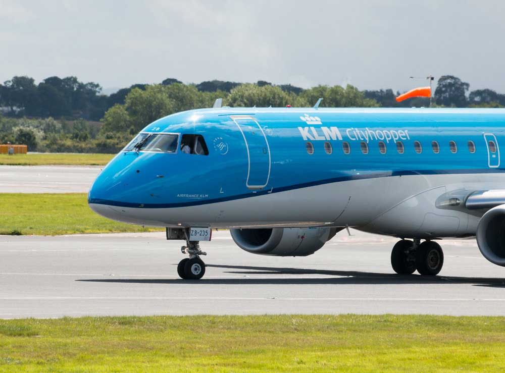 Five E190 aircraft operated regionally by KLM Cityhopper represents a significant investment for TrueNoord