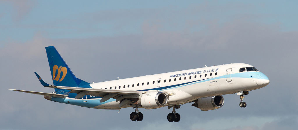 TrueNoord closes purchase of two Embraer E190 regional aircraft from GECAS operated by Mandarin Airlines