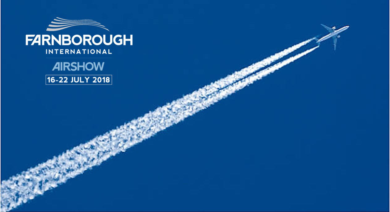 Truenoord will be at the Farnbourough International Airshow 2018