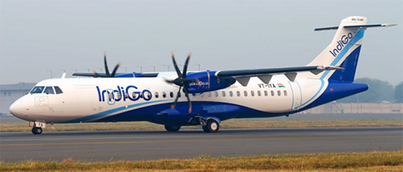 TrueNoord leases five new ATR 72-600s to IndiGo