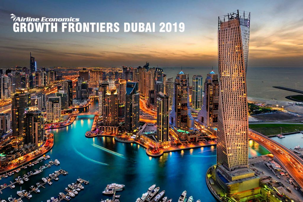 We look forward to seeing you at the Airline Economics Growth Frontiers Conference in Dubai
