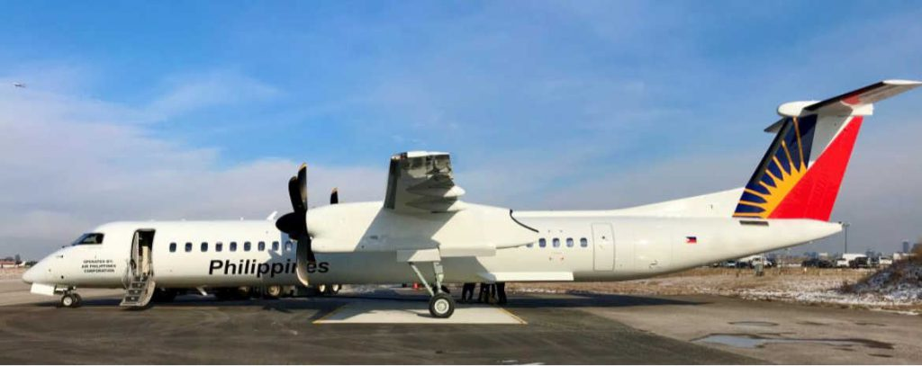 Philippine Airlines leases two De Havilland Canada Dash 8-400 aircraft from TrueNoord