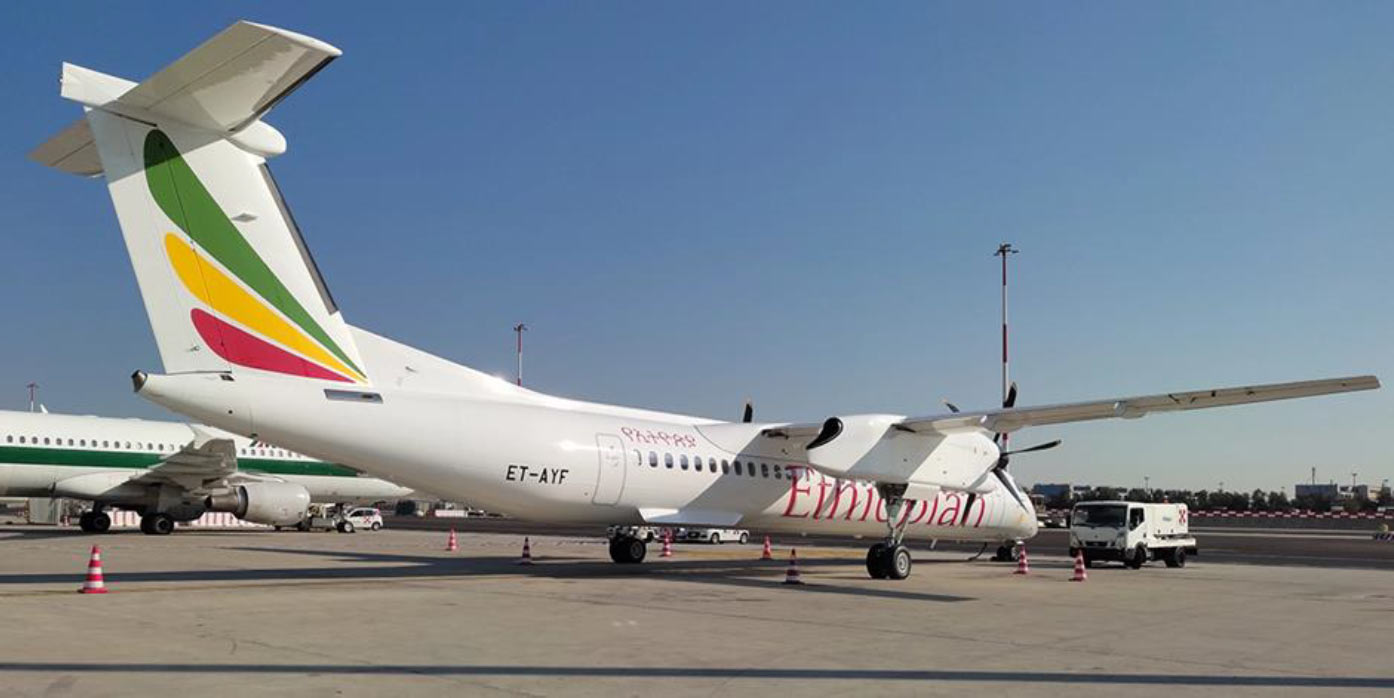 Ethiopian Airlines leases new Dash 8-400 from TrueNoord