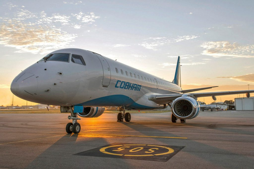 TrueNoord leases Embraer E190 to Cobham Aviation Services